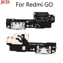 JCD для Redmi go USB порт зарядное устройство док разъем гибкий кабель для Xiaomi для Redmi GO зарядка Нижняя плата замена