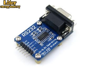 10 stks/partij RS232 Board SP3232 RS-232 UART RS232 naar TTL Transceiver Connector Evaluatie Development Board Module Gratis Verzending