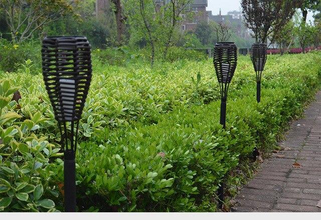 Solar Lampen Tuin : Vioslite 4 stks set waterdichte solar lamp light control solar led