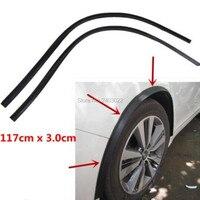 117CM for ford focus 3 Wheel Eyebrow Protector Lip Wheel arch Trim