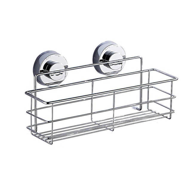 Hot Ing Food Grade 304 Stainless Steel Bath Shower Suction Basket Caddy Bathroom Storage Tidy Tool