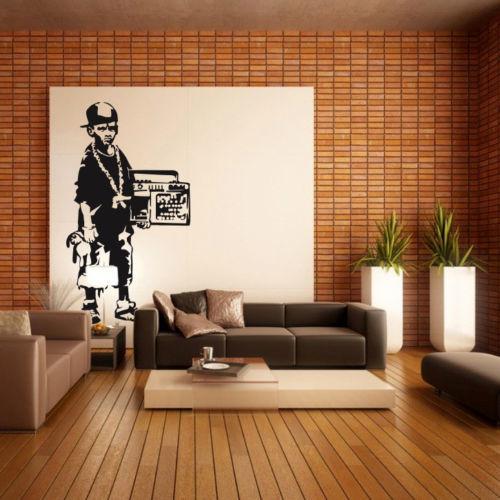 Bedroom Interior Wall Colours Graffiti Bedroom Accessories Bedroom Decor White Nautical Bedroom Design Ideas: Popular Home Wall Decal Sticker Vinyl Street Art Graffiti