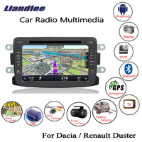Liandlee For Renault Duster / For Dacia Duster 2011~2018 Android Car Radio CD DVD Player GPS Navi Navigation Maps Camera OBD TV