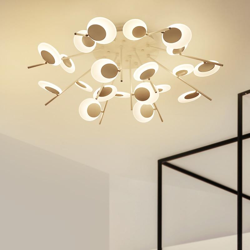 все цены на Modern LED chandelier ceiling nordic deco bedroom fixtures novelty lighting living room suspended lamp restaurant hanging lights