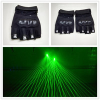 Hot Sale Chiristmas Laserman Show Gloves With 3 Pcs 532nm 80mw Green Laser Gloves Party Stage Laser Show Led Laser Gloves