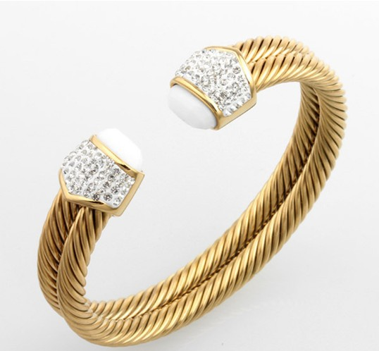 with women main products cable bracelets bracelet bangles classic pdp gold buckle