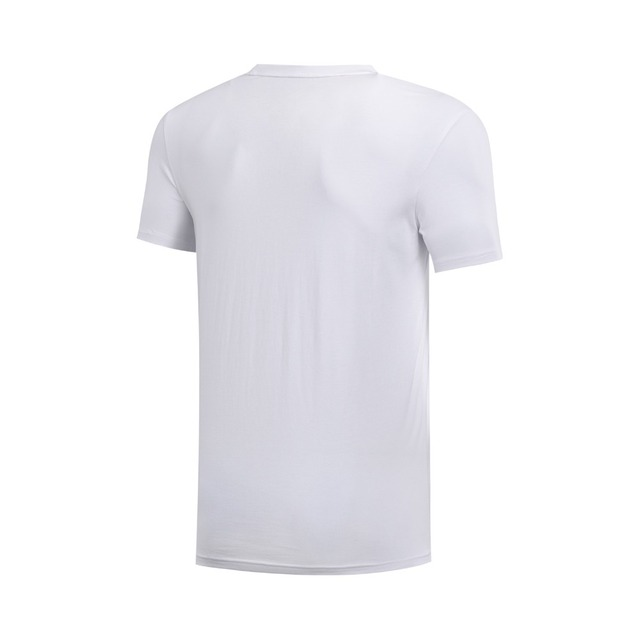 Li-Ning Men The Trend T-Shirt 100% Cotton Regular Fit Breathable Comfort LiNing Fitness Sports Tee Tops AHSN155 MTS2773 4