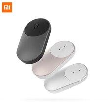 Xiaomi souris Portable optique USB souris sans fil Bluetooth 4.0 souris RF 2.4GHz double Mode connecter utilisation de bureau pour ordinateur Portable