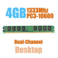 Brand New Sealed DIMM DDR3 1333Mhz 4GB PC3 10600 Memory For Desktop RAM Good Quality Compatible