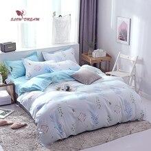 SlowDream Double Bedspread Duvet Cover Set 3/4PCS Bedclothes Decor Home Bedding Bed Linen Pillowcases Textiles