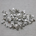 100PCS Boutique Earring Back Silver-plate Earplugs DIY Fittings for Accessory Hardware Fittings Accessory Jewelry Making Design