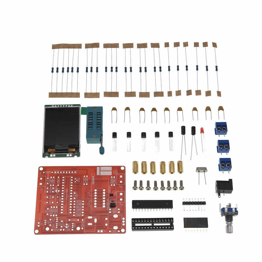 2018 tft gm328トランジスタテスターダイオードlcr esr計pwm方形波発生器