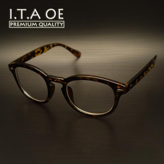 Johnny Depp ITAOE Clásicas de Diseño de Moda Unisex Hombres Mujeres Marcos Eyewear Ópticos del Acetato Gafas Gafas Miopía gafas de Lectura