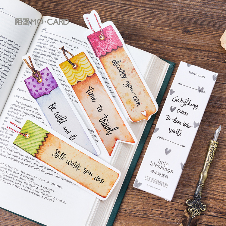 30 Pcs/1 Lot Cartoon Best Wish Mimi Paper Bookmarks Bookmarks For Books/Share/book Markers/tab For Books/stationery