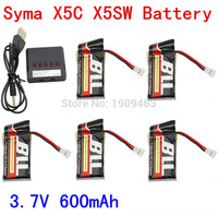5 In 1 Syma X5C X5C 1 X5A X5 X5SC X5SW H5C V931 Lipo Battery Charger
