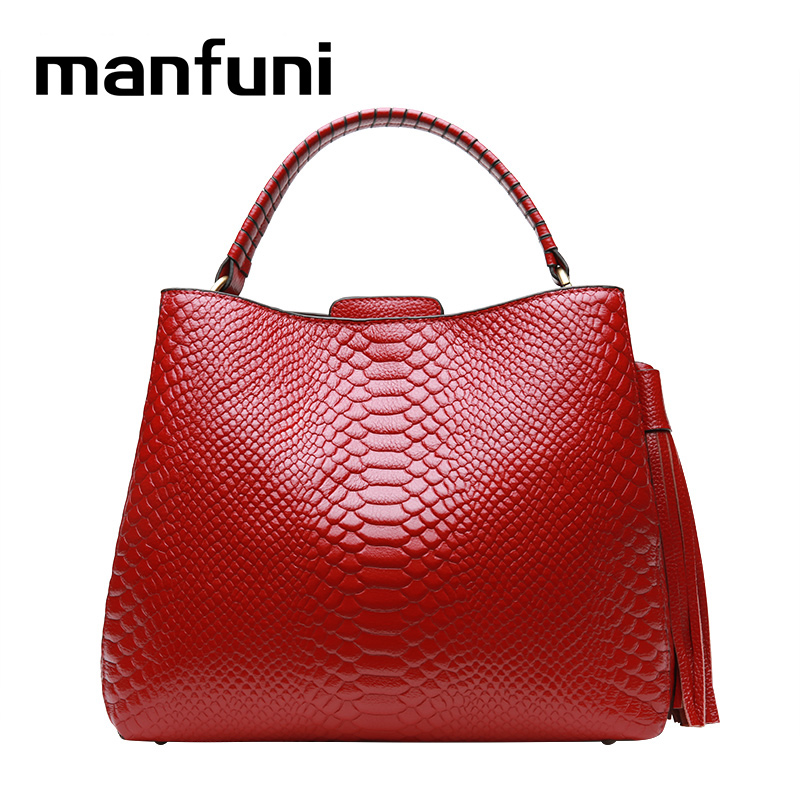 MANFUNI High Quality 100% Genuine Leather Handbag Large Capacity Tote Real Cow Leather Ladies HandBags high quality sbc8168 rev c2 100