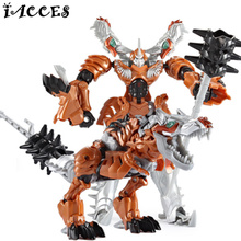 Cool Anime Toys Deformation Robot Car Action Figure Movie 4 Dinosaur Model Brinquedos Kids Boys Toys