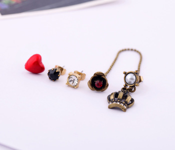 Fashion accessories love small vintage women's stud earring Factory Wholesale image