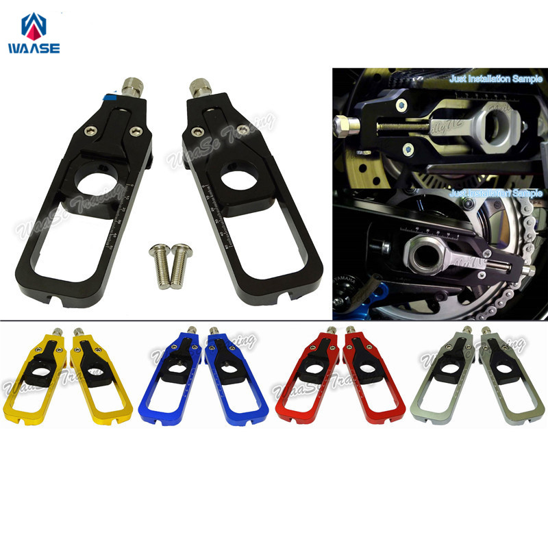 waase Motorcycle Chain Adjusters Tensioners Catena For BMW S1000RR 2009 2010 2011 2012 2013 2014 / S1000R 2013 2014 2015-2017 саваж каталог осень зима 2013 2014
