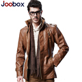 2017 new arrival leather jacket cashmere thick warm long pilot leather jacket leather suede fashion winter jacket men (PY002)