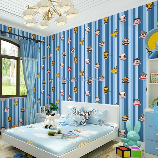 levinger fashion animal pattern wallpaper cartoon wallpaper kids room wall coverings