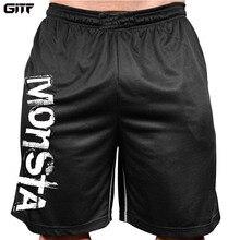 GITF Summer Mens Run Jogging Shorts Gym Fitness Bodybuilding Workout Sports Sportswear Male Short Pants qucik dry shorts