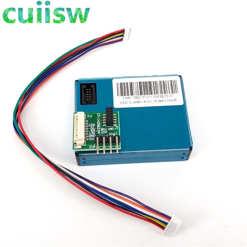 US $18 3  Laser PM2 5 DUST SENSOR PMS7003 / G7 High precision laser dust  concentration sensor digital dust particles-in Sensors from Electronic