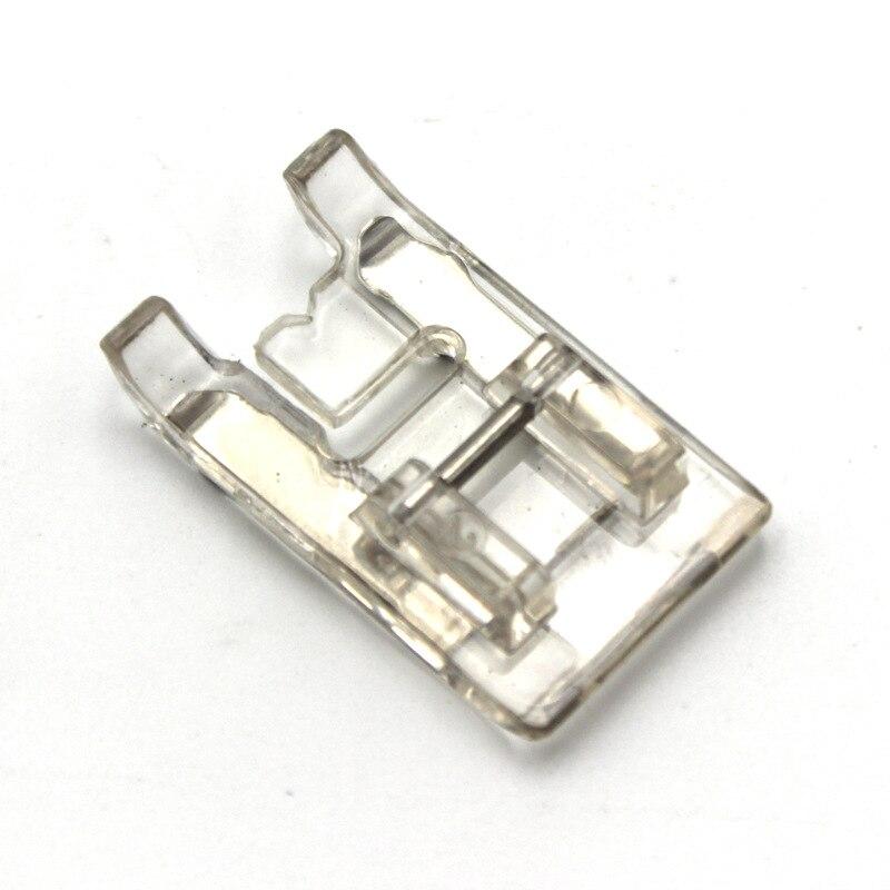 1Pcs Transparent DIY Sewing Pattern Presser Foot for Household Machines Fine Needle Applique Machine 7303