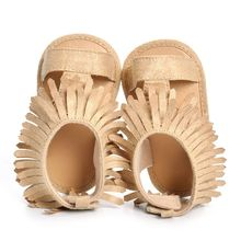 0-18M New Beige and Khaki Hollow Shoes Newborn Baby Boys Girls Baby Fringe Moccasins Summer Soft Moccs Sandals