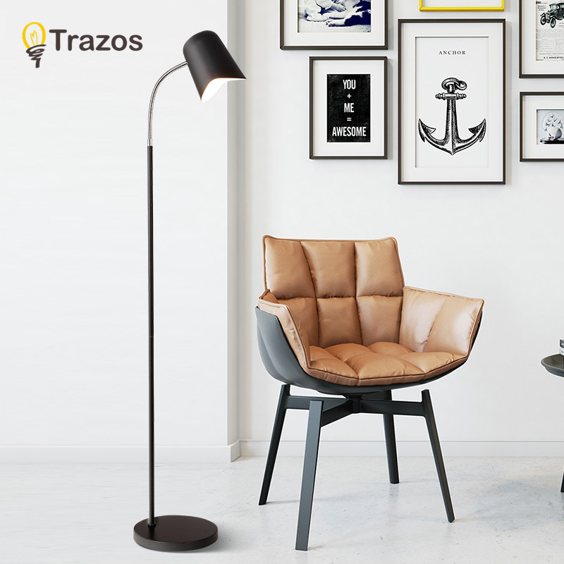 Modern Minimalist Industrial Floor Lamp Standing Lamps for Living ...
