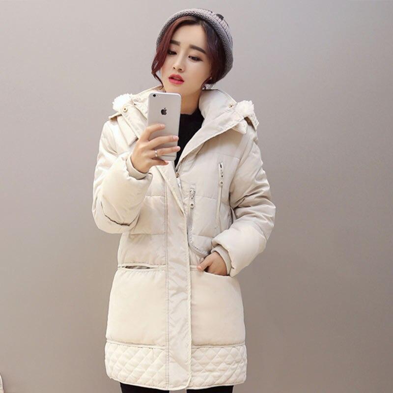 Parkas Mince Survêtement De 2018 Femelle Taille Court La Rembourré Hiver Manteaux Noir Plus À blanc Tops Épaissir Femmes Base Coton Veste Capuchon Solide x8qYZSnw8