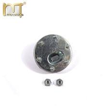 Mato turret side metal pistol port  for  Heng Long 3818-1 1/16 1:16 RC Germany Tiger 1 tank