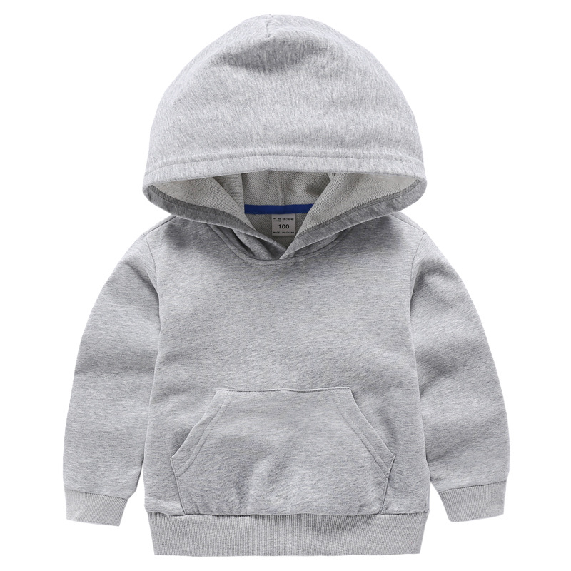 VIDMID Boys Jackets For Girls Kids Hooded Coat T-shirt Baby Boys Clothes Long Sleeve Sweater Children's Clothing Tops 7060 02
