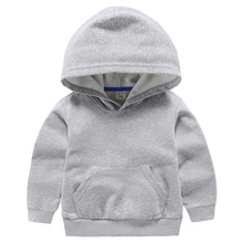 VIDMID Boys jackets for girls kids hooded coat T-shirt Baby Boys Clothes Long Sleeve sweater Children's clothing tops P4276