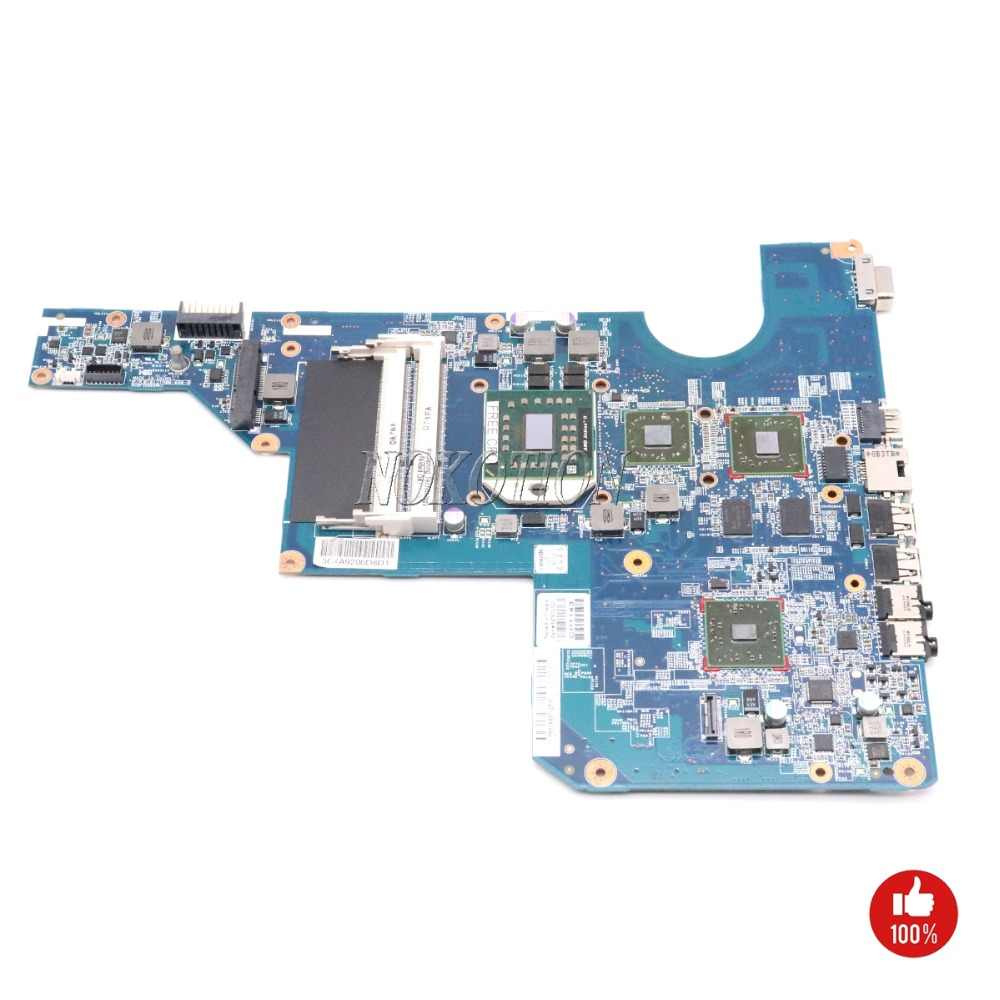 NOKOTION 597673-001 610160-001, placa base para portátil para HP CQ62 G62 DDR3, Tablero Principal, cpu gratis