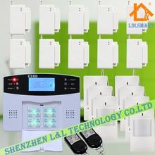 Беспроводной Системы Сигнализации GSM Inturder Сигнализация ЖК-Экран Умный Дом Охранной Сигнализации Quad Band