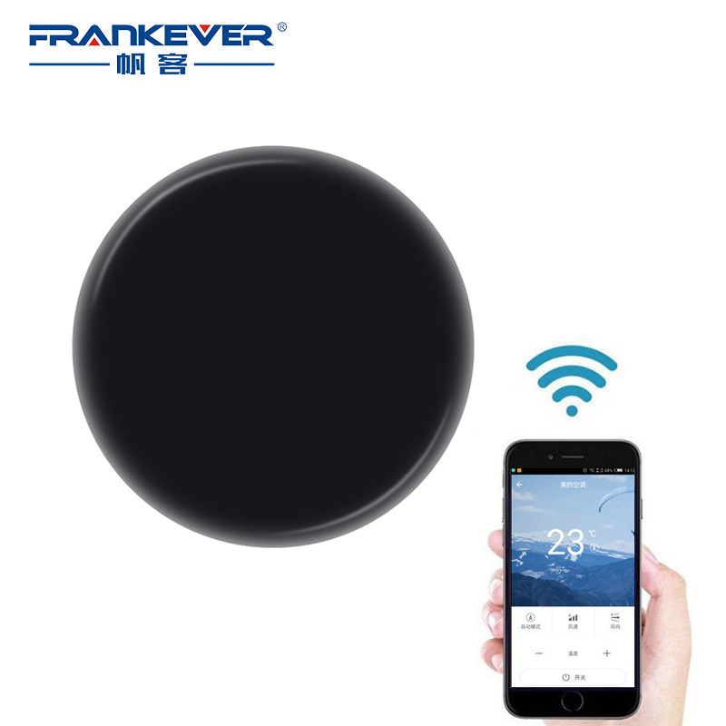 FrankEver Mini Smart Switch WIFI Wireless Remote Control Smart Home Automation For TV Air Conditioner IR Infrared Equipment in stock 100% xiaomi mi universal smart remote controller home appliances wifi ir switch 360 degree smart for air conditioner tv