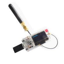 アップグレード WIFI ESP32 Lora 32 V2 開発ボード 868 MHz 915 MHz SX1276 ESP32 LoRa 0.96 インチ青色 Oled ディスプレイの Bluetooth