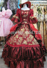 GT-115 1860S Victorian Sweet Lolita/Civil War Southern Belle Ball Gown Scarlett dresses Sz US 6-26 XS-6XL