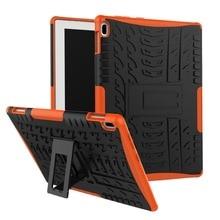 Tablet Case For Lenovo TAB4 Tab 4 10 TB-X304L TB-X304F TB-X304N 10.0″ Armor Rugged Hybrid Hard Protection Case+Stylus Pen+Film.