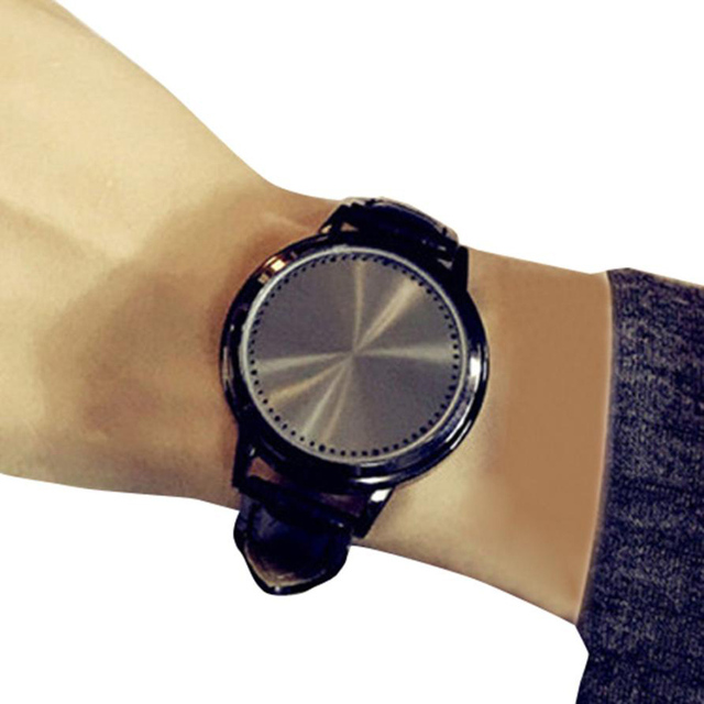 New Fashion Creative Lovers Watches Waterproof LED Watch Women Men Couples Wrist
