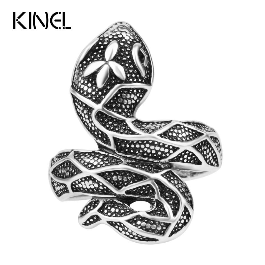 Jewelry Lot Snake Rings...