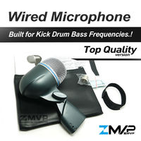 Free Shipping! B 52A Professional Bass Amp Kick Drum Microphone 52A Supercardioid Dynamic Instrument Microfone Mic