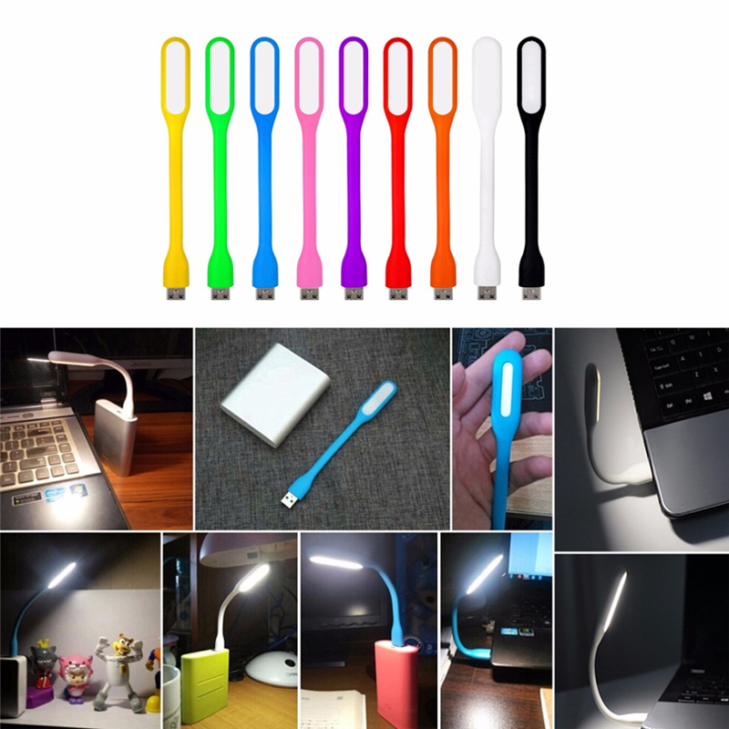 5v Led Night Light 360 Degree Rotation Portable Usb Mini Reading Lamp 1.2w 6 Led Book Lights Energy Saving Lamp Camping Lantern Lights & Lighting