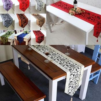 Fashion Accessories Flower Tablecloth Table Runner 1