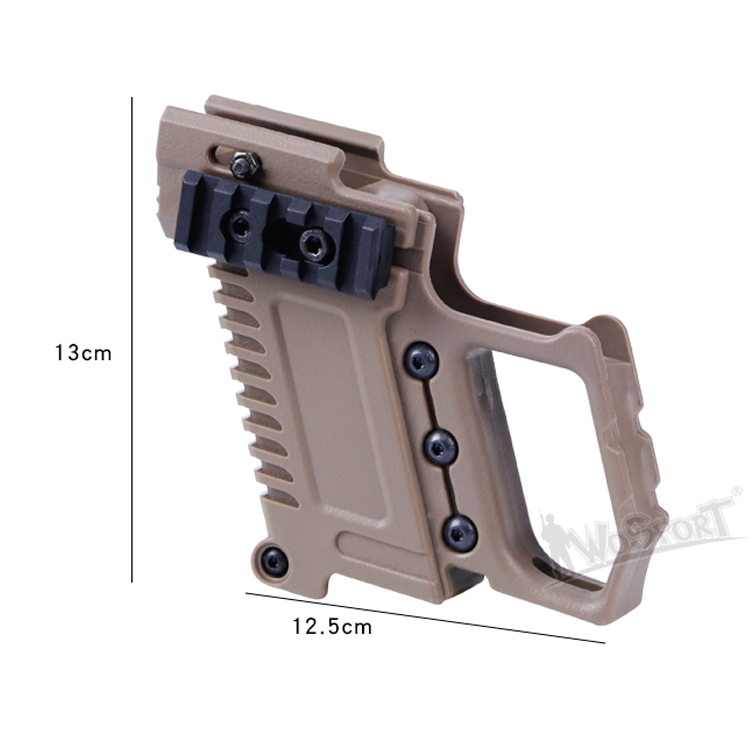 Hunting Hunting Gun Accessories Tactical Pistol Carbine Kit Glock Airsoft Air Guns Mount For Cs G17 18 19 Gun Accessories Loading Device Hunting