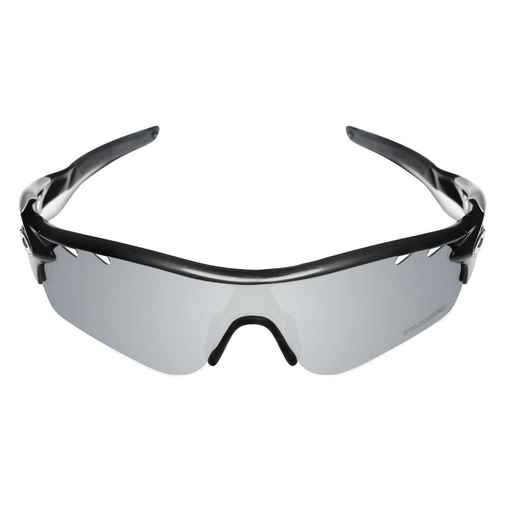 HKUCO Mens Replacement Lenses For Oakley Radar Path Sunglasses Silver/Transparent Polarized LvWaZZh8