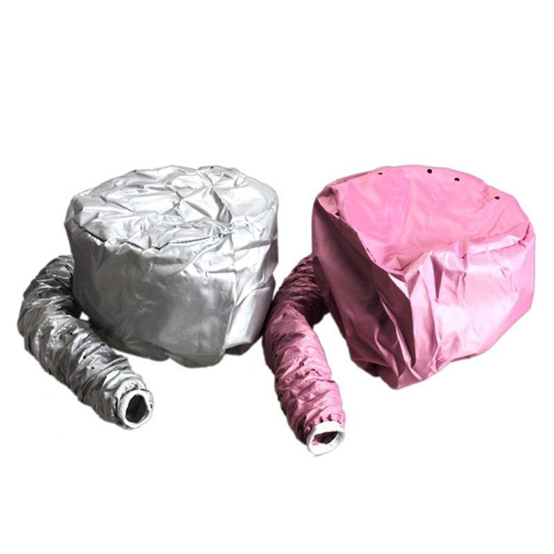 1Pc Nylon Hair Dryer Nursing Caps Dye Hairs Modelling Heating Warm Air Drying Treatment Cap Home Safer Than Electric