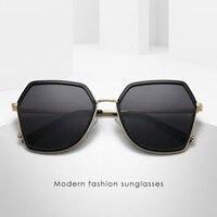 ab8f7ae74 2019 Fashion Sunglasses Women Brand Designer Frame Polygon Clear Lens  Sunglasses Men Vintage Sun Glasses Hexagon