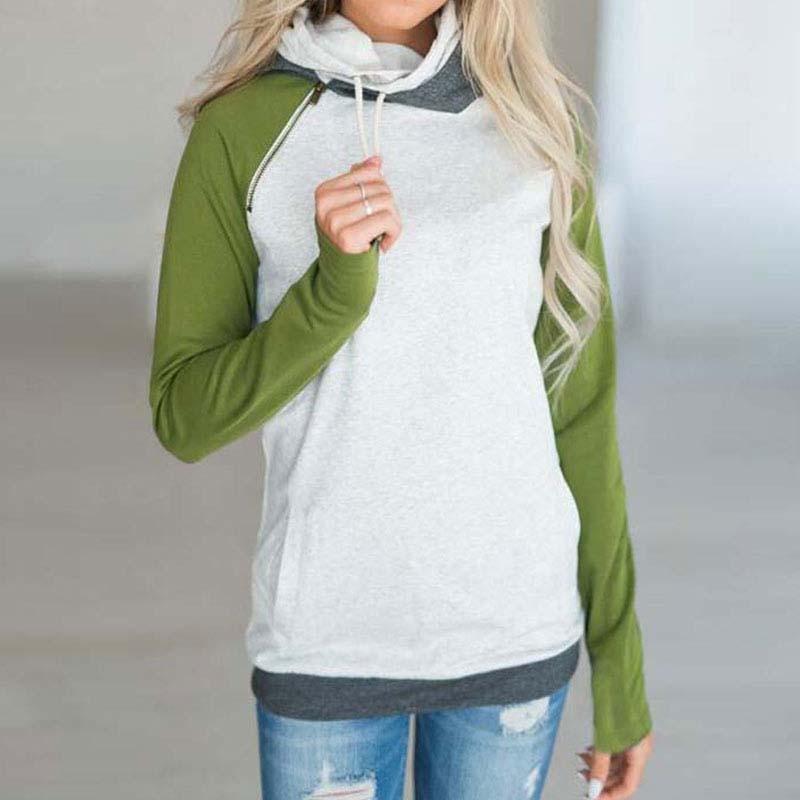 Women's Autumn Hoodie Sweatshirt 19